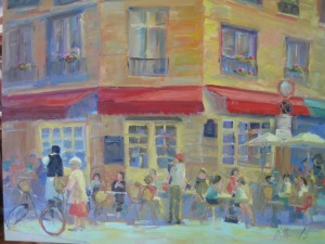 """Local Flavor""--20X24 Oil on Canvas"